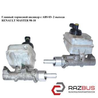Главный тормозной цилиндр с ABS 03- 2 выхода RENAULT MASTER II 1998-2003г RENAULT MASTER II 1998-2003г