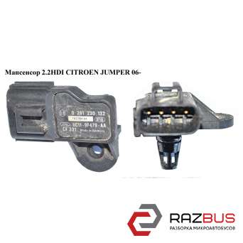 Мапсенсор 2.2HDI FIAT DUCATO 250 Кузов 2006-2014г