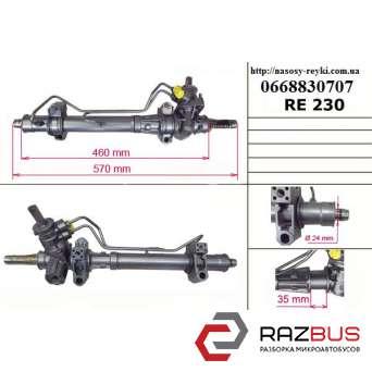 Рулевая рейка с Г/У трубки в сторону реставрация -06 RENAULT KANGOO 1997-2007г