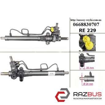 Рулевая рейка с Г/У трубки вверх реставрация -03 RENAULT KANGOO 1997-2007г