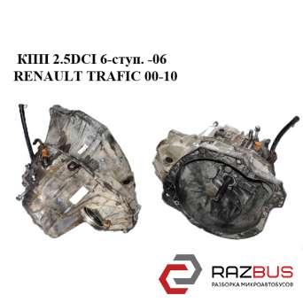 КПП 2.5DCI под датчик 6-ступ. -06 RENAULT TRAFIC 2000-2014г RENAULT TRAFIC 2000-2014г