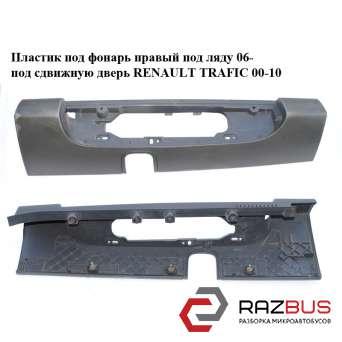 Пластик под фонарь правый под ляду 06- под сдвижную дверь RENAULT TRAFIC 2000-2014г RENAULT TRAFIC 2000-2014г