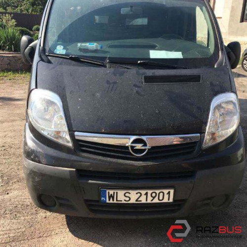 Opel Vivaro  2008г. (черный) 2.5dci КПП: 6ст. мех.